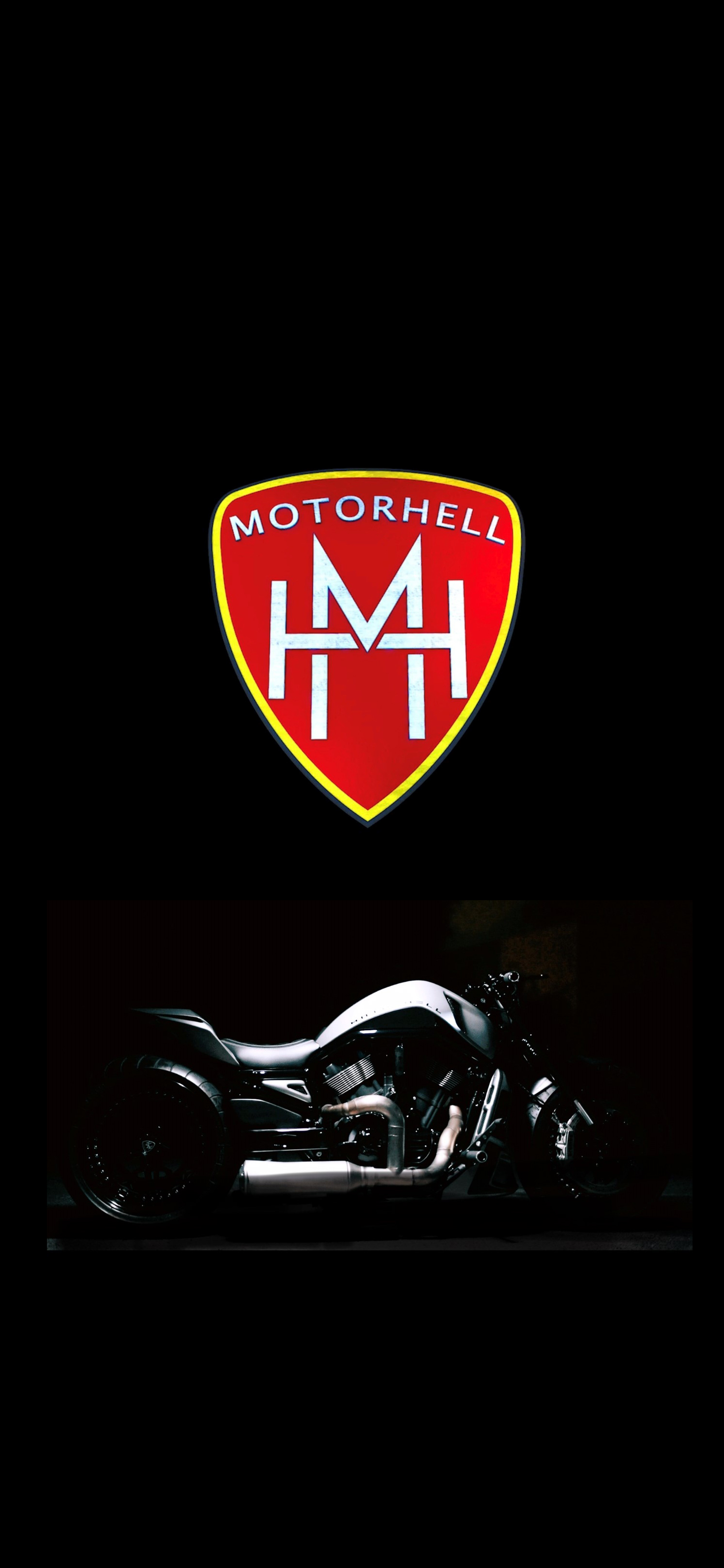 Motorhell mobile wallpaper logo V-Rod 2018